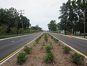 Road-Construction-King-Street-Median