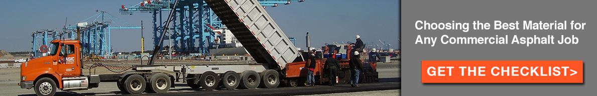 commercial asphalt checklist